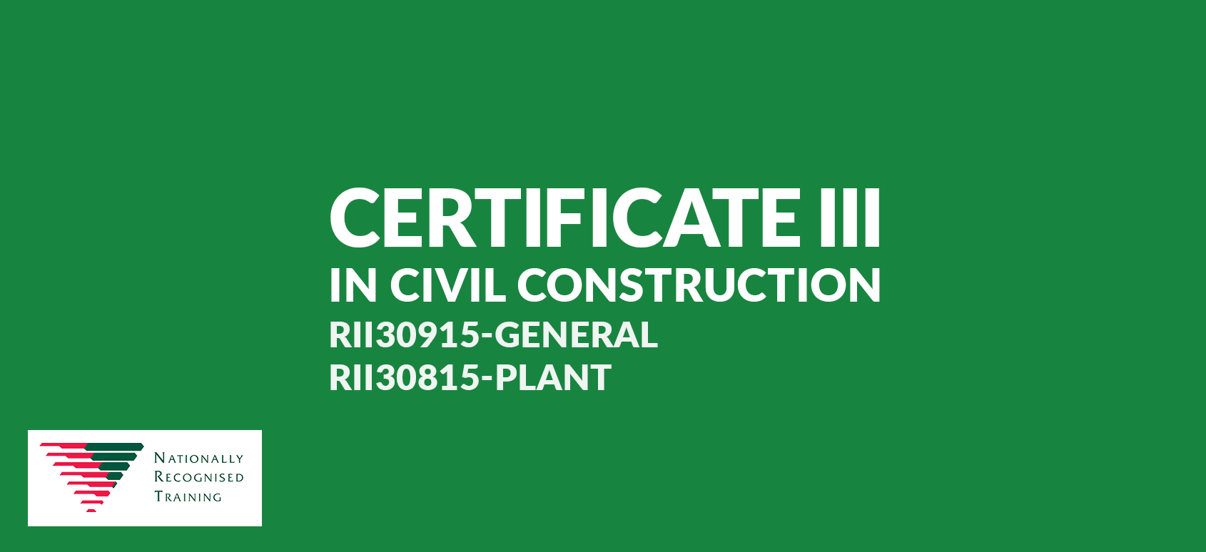 certiii civil construction