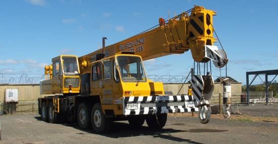 Slewing Mobile Crane Licence 60t | TLILIC4009